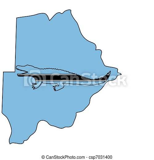 Nile crocodile Botswana - csp7031400