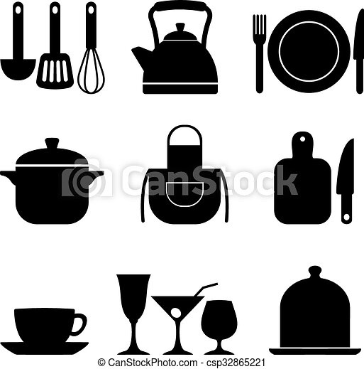 Nine Kitchen Icons