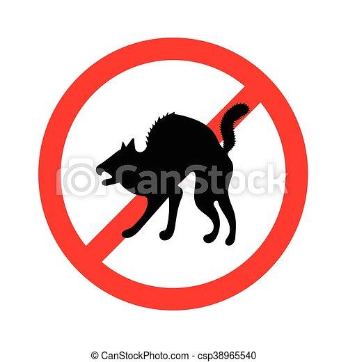 No hay señal de animales - csp38965540