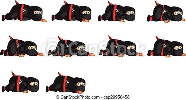 El espíritu ninja gordo - csp29950458