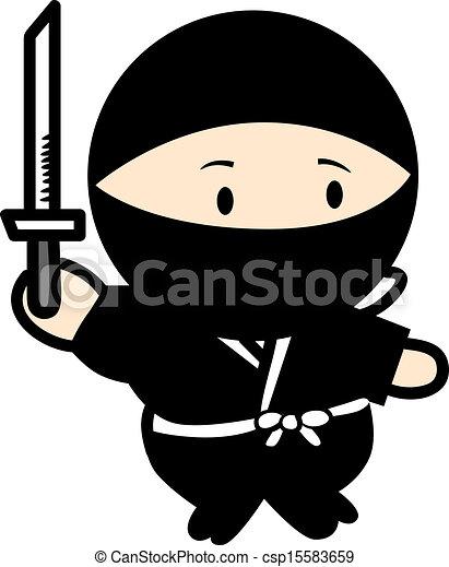 Guerrero ninja - csp15583659