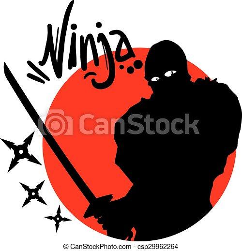 Un símbolo ninja - csp29962264