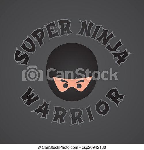 Tema de personaje ninja - csp20942180