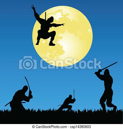 Ninjas - csp14380603