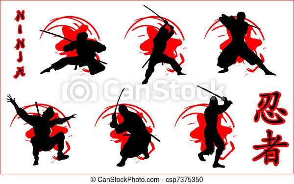 Ninjas - csp7375350