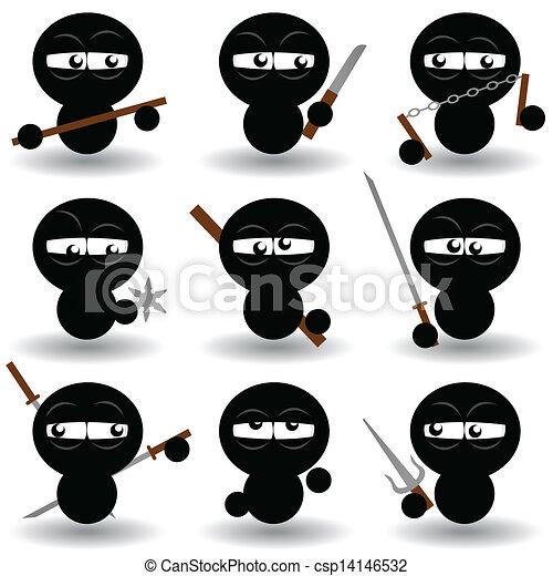 Ninjas - csp14146532