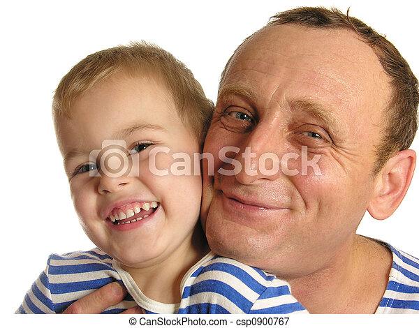nipote, nonno - csp0900767
