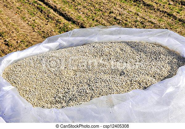 nitrogenous fertilizer - csp12405308