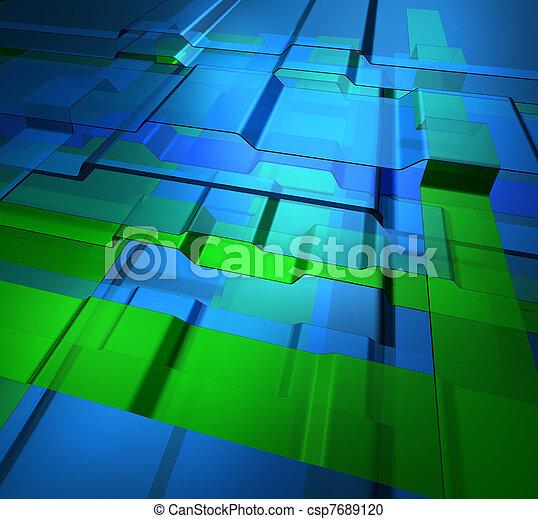 Niveles de tecnología transparentes - csp7689120