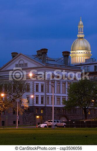 NJ State capitol - csp3506056