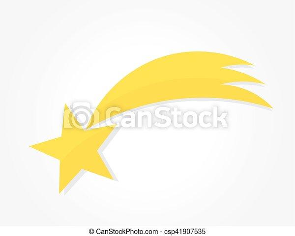 noël, bethlehem, icône, étoile - csp41907535