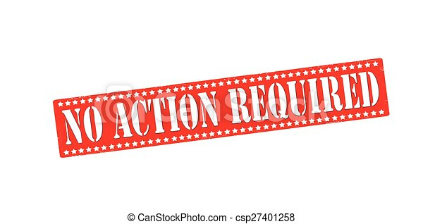 No action required - csp27401258