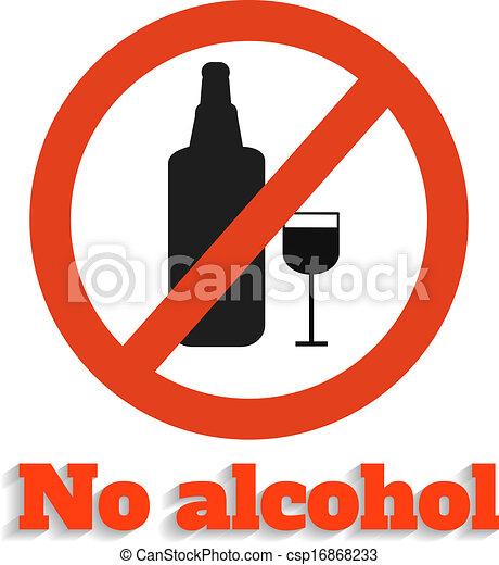 No alcohol - csp16868233