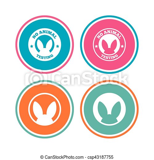no animals testing icons non human experiments no animals rh canstockphoto ca clip art icons and symbols clip art icons and symbols