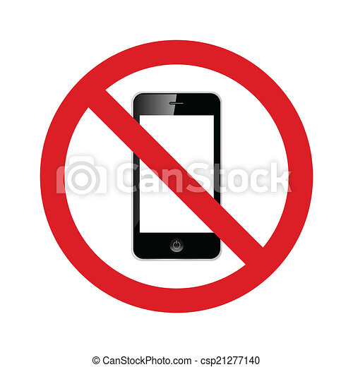 no cell phones allowed sign no cell phones allowed vector sign rh canstockphoto com