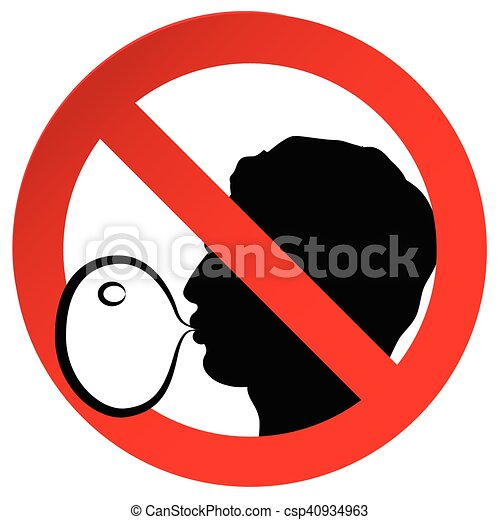 no chewing gum prohibited symbol sign on paper sticker clip art rh canstockphoto com bubble gum bubble clipart bubble gum bubble clipart