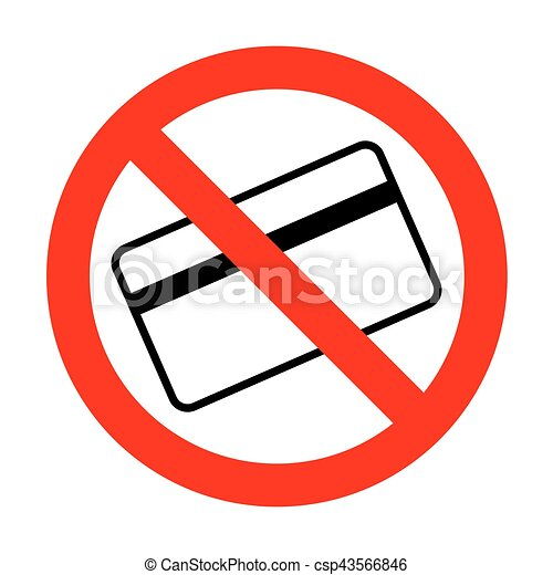 no credit card symbol for download eps vector search clip art rh canstockphoto com credit card clipart free no credit card clipart