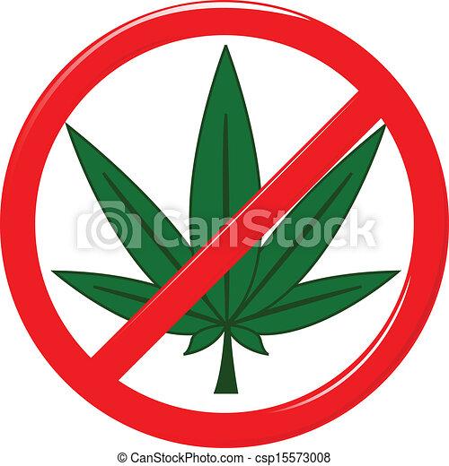 Vector illustration no drugs.