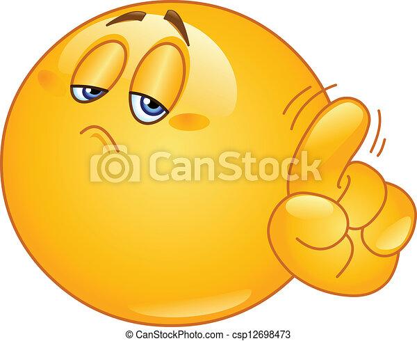 No emoticon - csp12698473