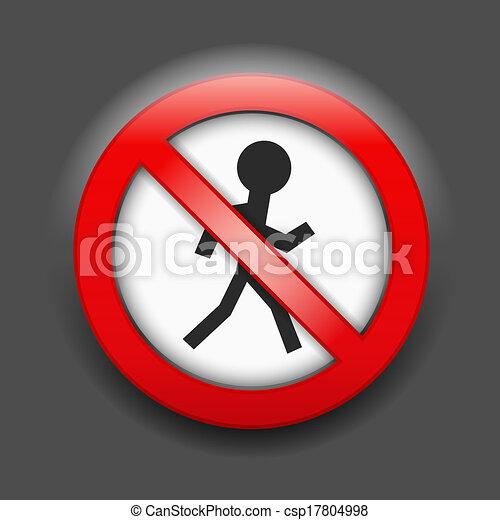No Entry Sign - csp17804998