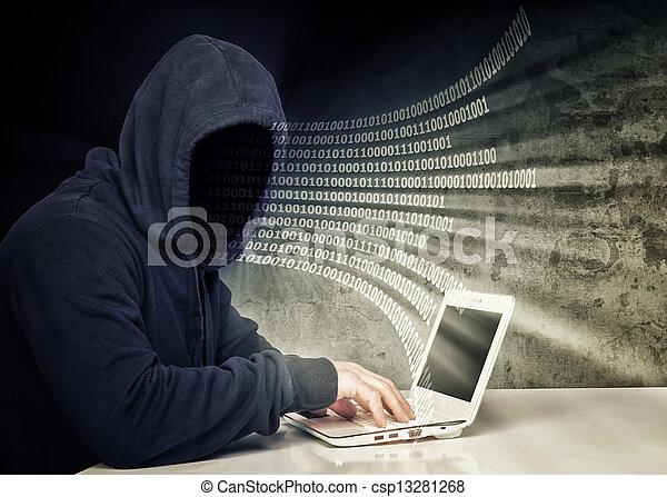 no face hacker - csp13281268