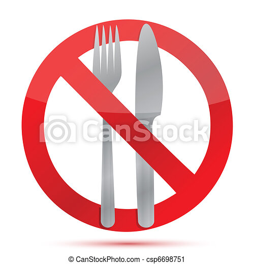 no food allowed sign over a white background vector clip art rh canstockphoto co uk no food clipart black and white no food clipart black and white
