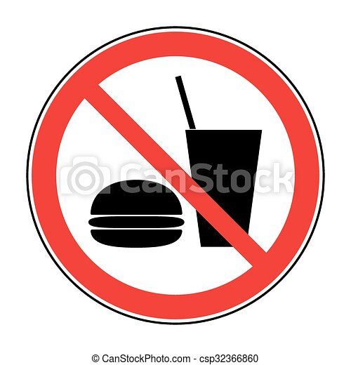 no food and drink do not eat and drink icon no food or drink rh canstockphoto com