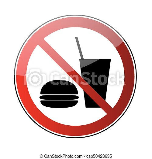 no food no drink sign no drink no food sign prohibited vectors rh canstockphoto com no food or drink clipart free