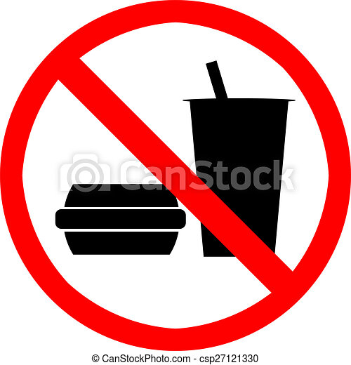 no food or drink no food or drink symbol drawings search clipart rh canstockphoto com