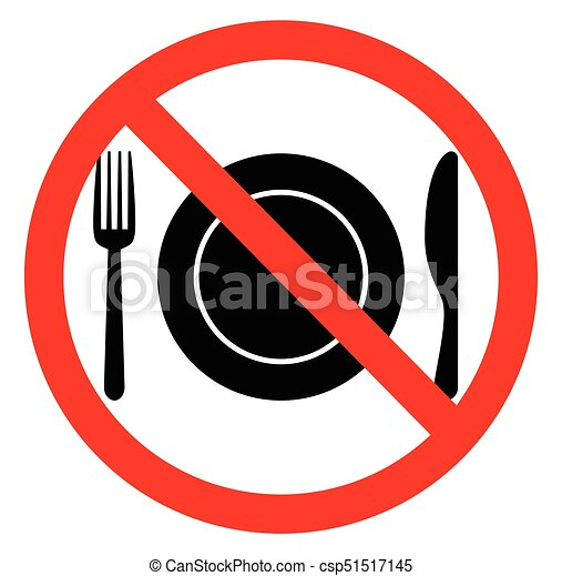 no food sign rh canstockphoto com no food sign clipart no food clipart black and white