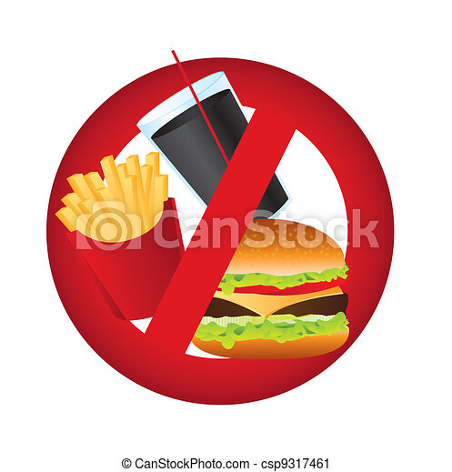 no food sign isolated over white background vector illustration rh canstockphoto com no food or drink clipart free no food clipart black and white