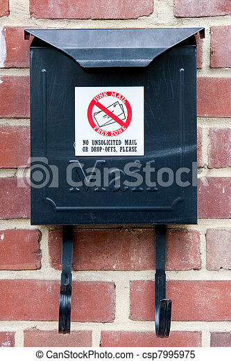 No junk mail - csp7995975