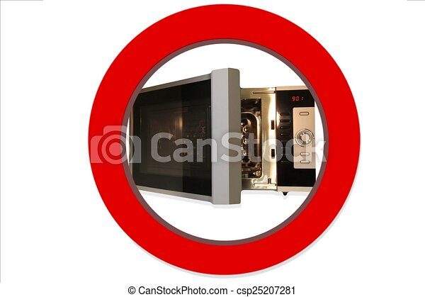 no microwave sign no microwave sign isolated on white stock illustration search eps clip. Black Bedroom Furniture Sets. Home Design Ideas