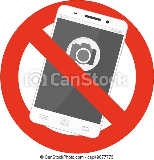 no mobile photos - csp49677773