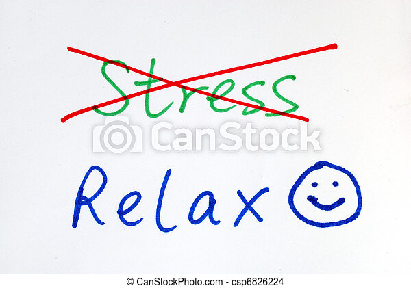 No more Stress, get some relax  - csp6826224