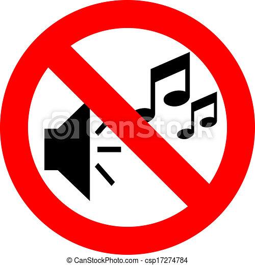 No music sign - csp17274784