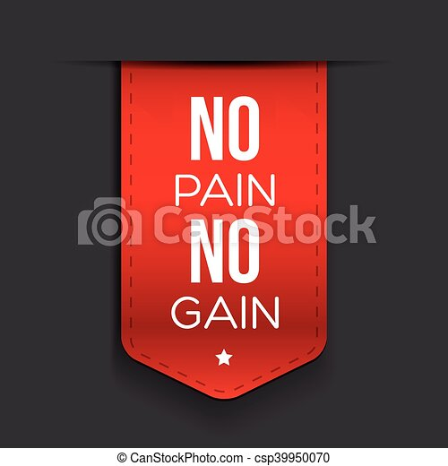 No Pain No Gain Workout And Fitness Motivation Quote