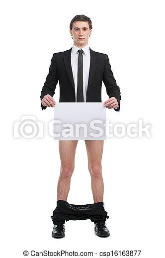 Sin pantalones - csp16163877