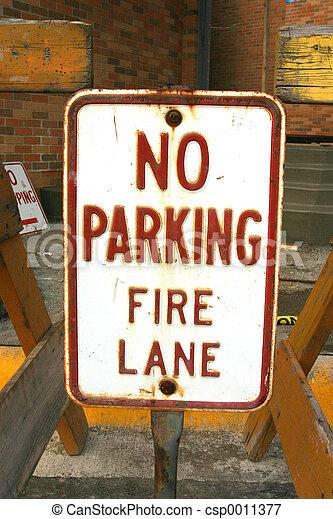 No Parking Fire - csp0011377