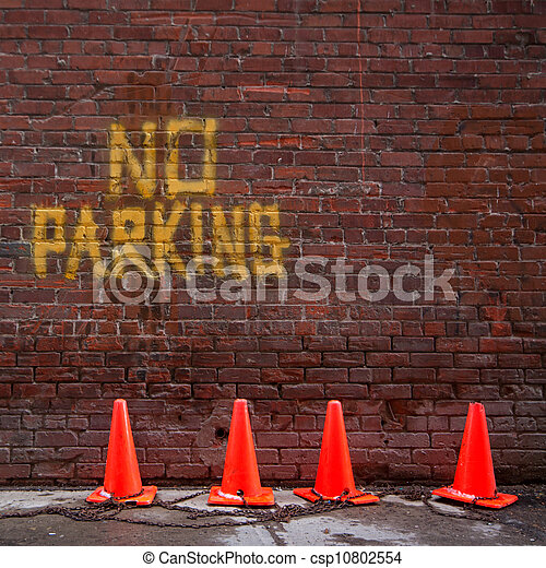 No Parking - csp10802554