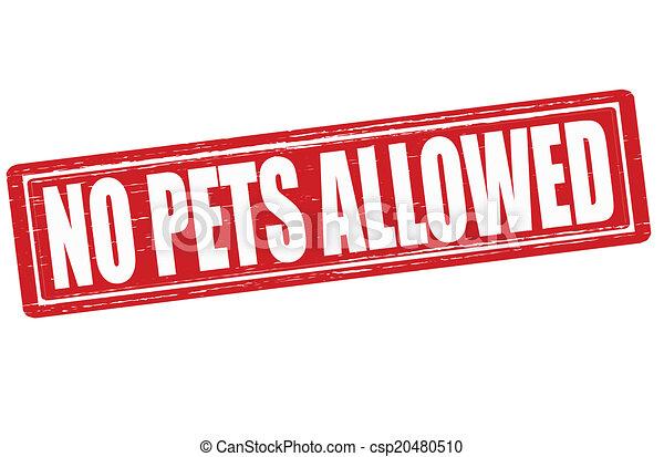 No pets allowed - csp20480510