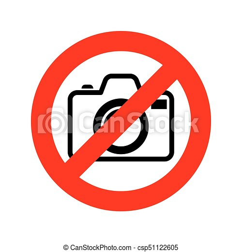 no photo camera sign vector illustration no photography sign rh canstockphoto com photography vectors free photography vector art