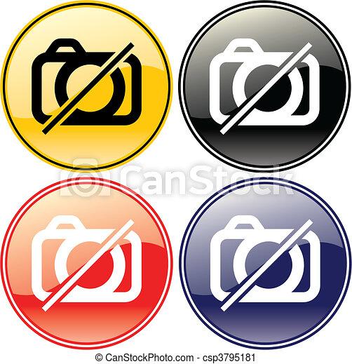 No Photography - csp3795181