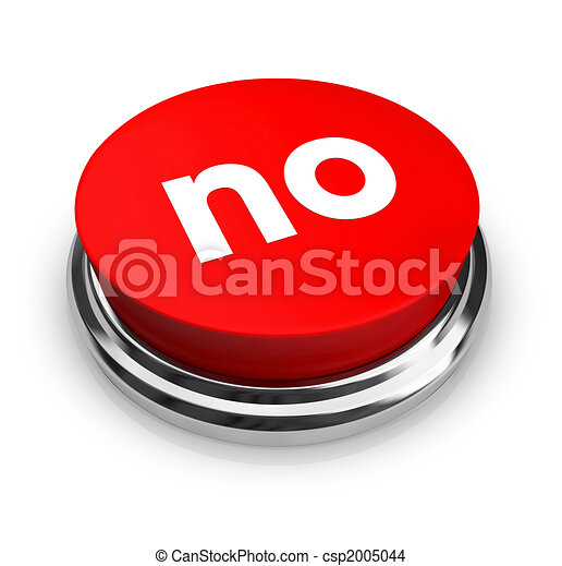 No - Red Button - csp2005044