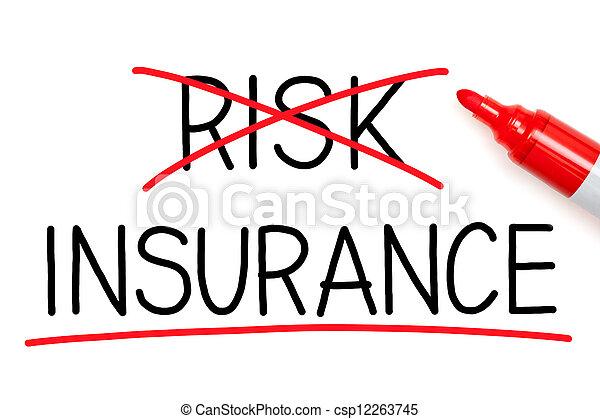 El seguro no corre el riesgo - csp12263745