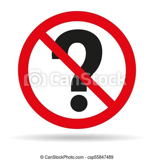 No hagas preguntas sobre antecedentes blancos. - csp55847489