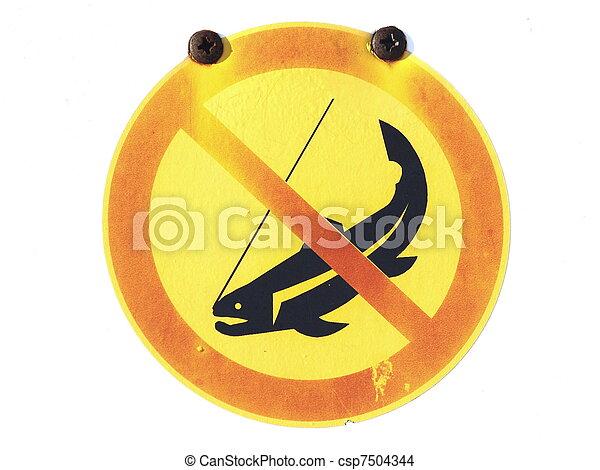 No hay señal de pesca - csp7504344