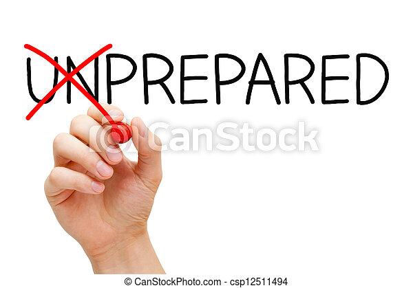 Preparada no sin preparar - csp12511494