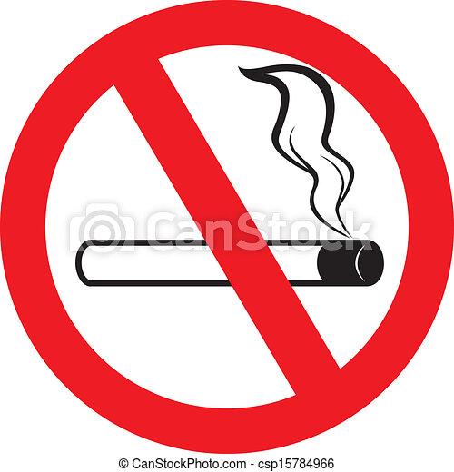 no smoking sign - csp15784966