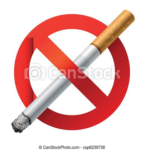 No Smoking sign - csp6239738